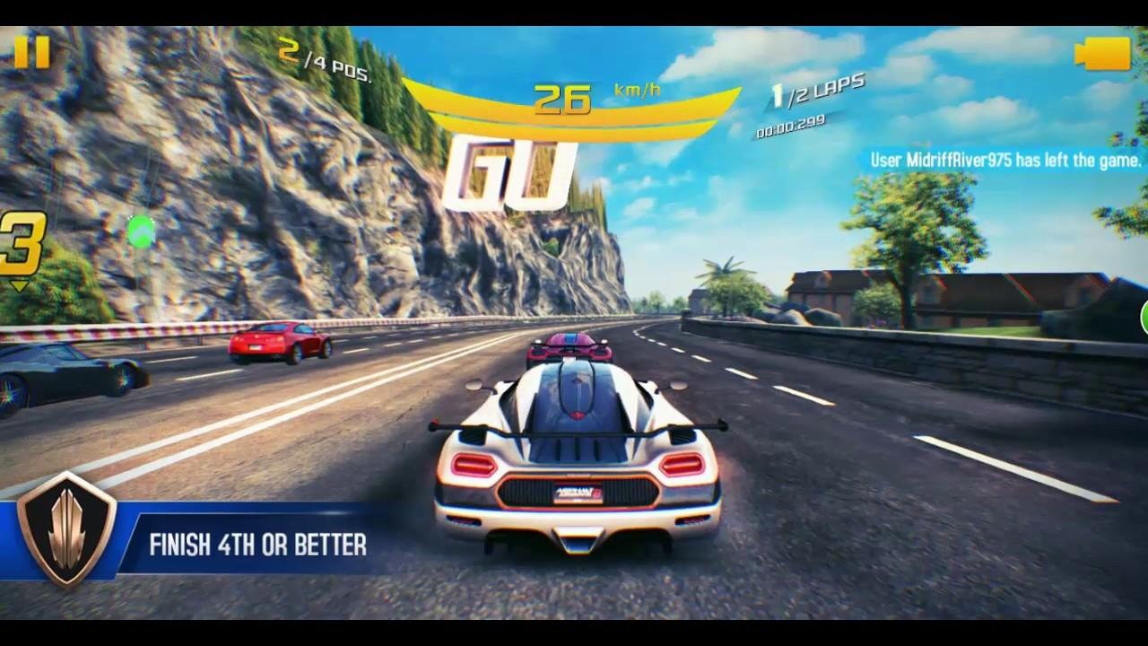 Asphalt 8 Multiplayer Walkthrough - Best Race Ever With Top Speed ...