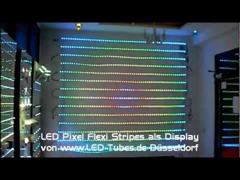 led pixel screen flexible led streifen digital pixel led. Black Bedroom Furniture Sets. Home Design Ideas