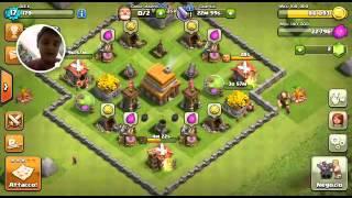 Clash of clans il mio villaggio , si fa per dire ok ?