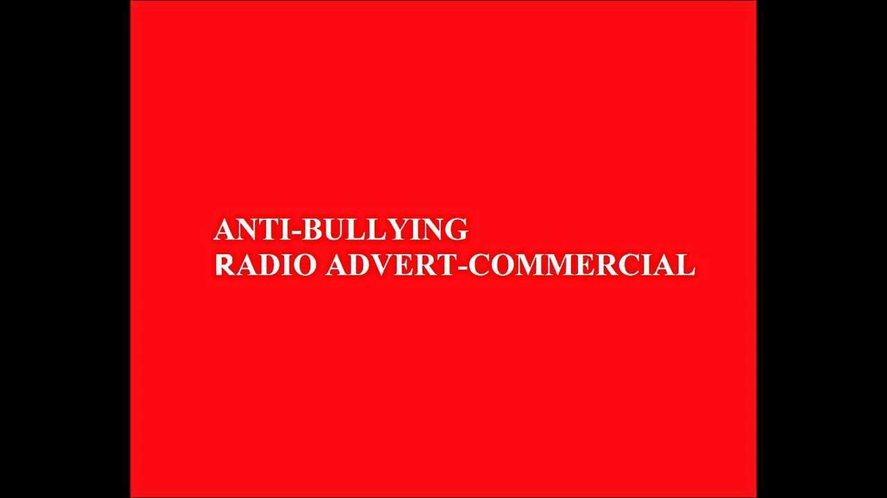 ANTI BULLYING Radio Advertisement/Commercial