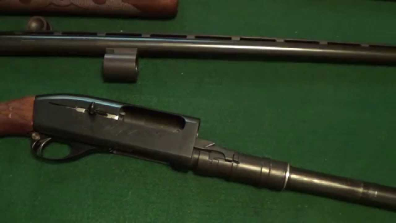 Remington 1100 Gas Seal Replacement  YouTube