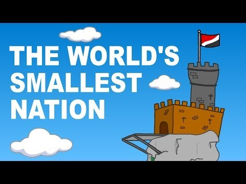 The world's smallest nation - Sealand