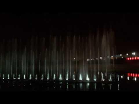 Musical fountain Gomti Nagar riverfront | Night life of Lucknow | Musical Fountain |