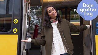 Auf Schienen unterwegs - Theo fährt Straßenbahn | Dein großer Tag | SWR Kindernetz