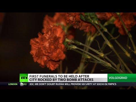 Volgograd mourns victims of twin terror attacks