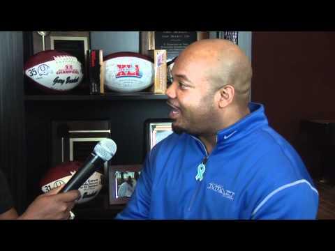 Ken Johnson Interviewing Gary Brackett