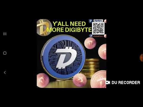#DIGIBYTE Keep Ur Money Safe With (DGB)