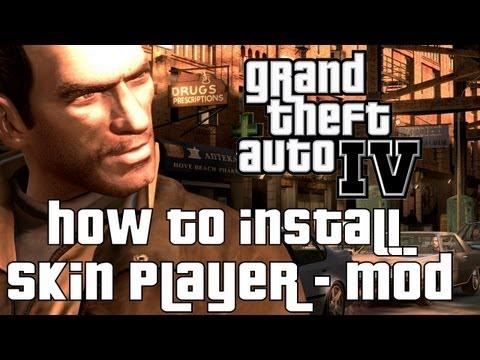 GTA IV/EFLC - How to install Skin/Player-Mods [HD Tutorial]