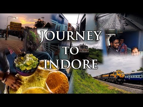 RailVlog|Trip to Indore|Journey in Jaipur Express