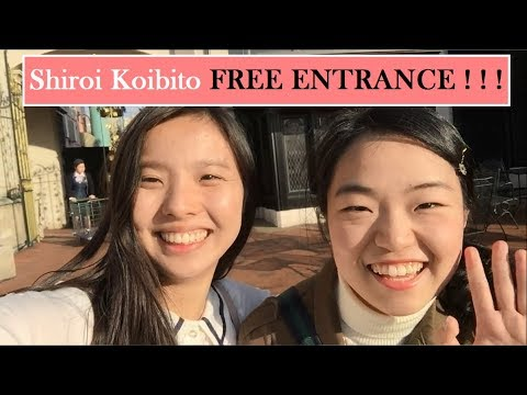 Japan Trip Guide - Shiroi Koibito Free Entrance!