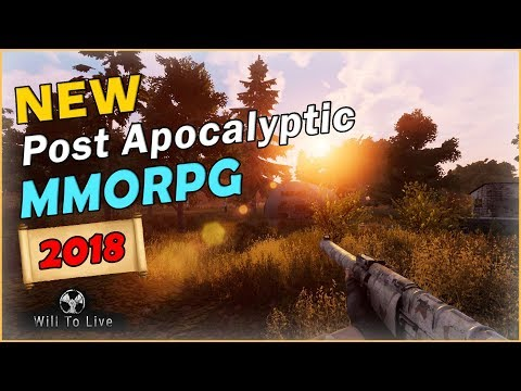 The Only Post-Apocalyptic MMORPG Worth Playing In 2018? - Will To Live Online [2018 Open World MMO]