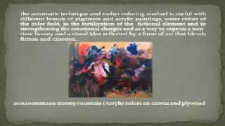 Expressive abstractions–-التجريدى المصرى Mohsen Attya- -د.محسن عطيه Thumbnail