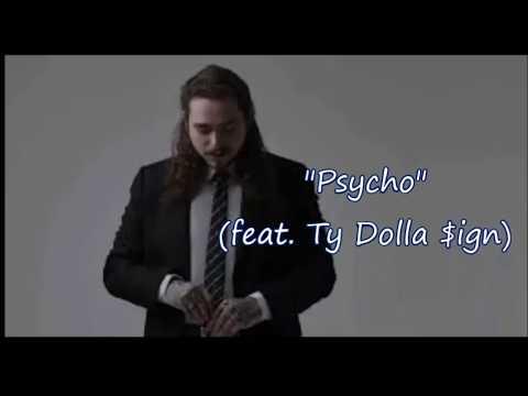 """post-malone---pyscho-(lyrics)-feat-ty-dolla-$ign-""""psycho"""""""