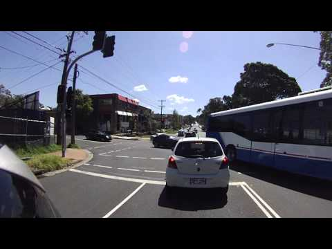 Saturday Motorcycling, Manly to Chatswood, Sydney Australia 澳洲週末摩托車之旅