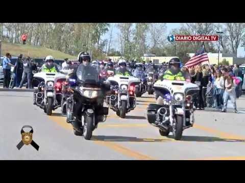 Funeral del Agente de Policía del Condado Blake Snyder (Chesterfield, MO)
