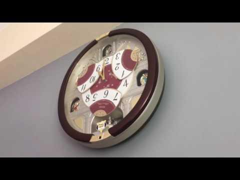 Wall Clock Seiko Melody In Motion 2016