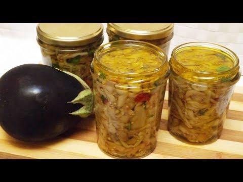 MELANZANE SOTT'OLIO ricetta tradizionale - Eggplants in oil traditional recipe