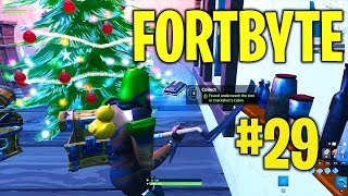 Fortbyte #29 trouvé sous l'arbre dans crackshot's Cabin- Fortnite Battle Royale