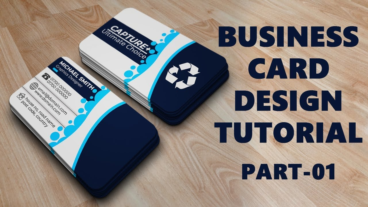 Business card design tutorial rounded corner business card design business card design tutorial rounded corner business card design tutorial in photoshop part one reheart Images