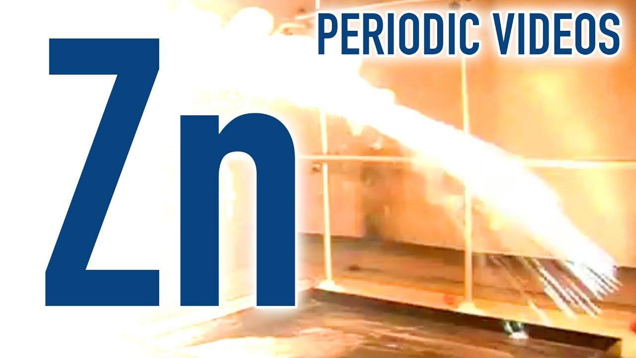 zinc periodic table of videos