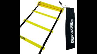 Speed & Agility Ladder Training And Free Carrying Bag By Endurance Pro