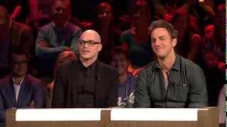 01/10/13: Guga Baúl in De Slimste Mens Ter Wereld