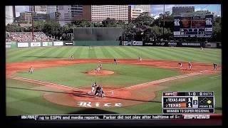 Texas Baseball vs Texas A&M June2 2014