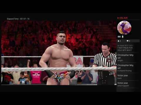 WWE 2K16 with mark cruz part 8