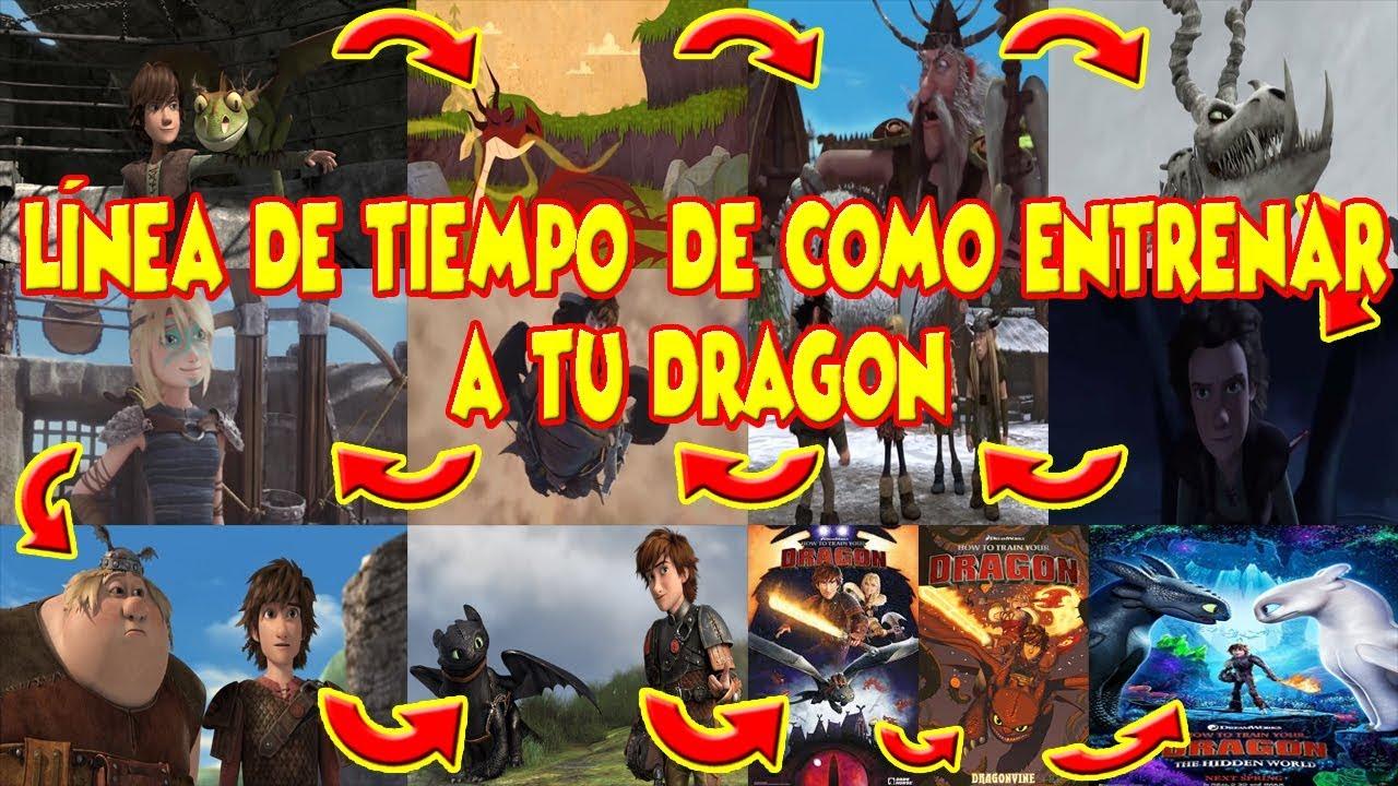 Cronología De Como Entrenar A Tu Dragon Youtube