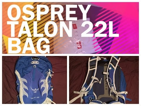 Osprey talon 22 unboxing and review