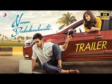 Nannu Dochukunduvate - Trailer (Telugu)   Sudheer Babu   B. Ajaneesh Loknath, RS Naidu, Nabha Natesh