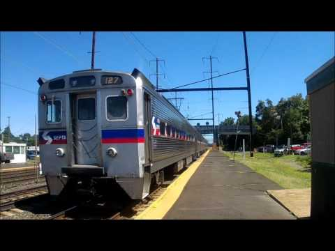 NS Freight, High Speed Amtrak, and SEPTA at Levittown (Surprises included)