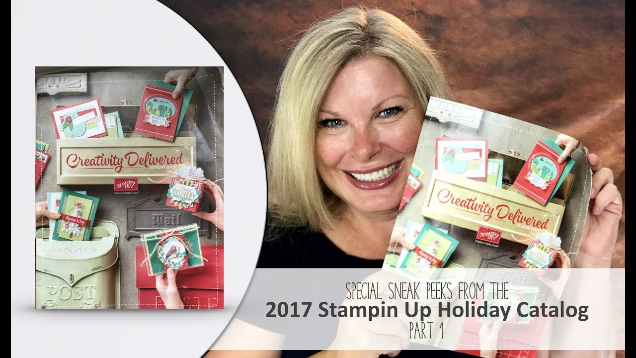 Introducing the 2017 Stampin Up Holiday Catalog – Now