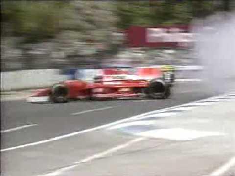 F1 - Jyrki Järvilehto horrible crash