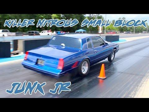 KILLER NITROUS SMALL BLOCK MONTE CARLO LS!! JUNK JR