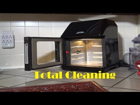 Power Air Fryer Oven Elite Total Cleaning