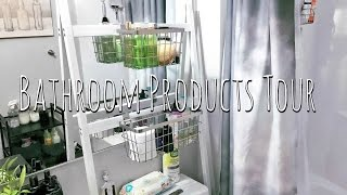 Small Bathroom Organization & Products Tour | SunKissHOME Ep. 2