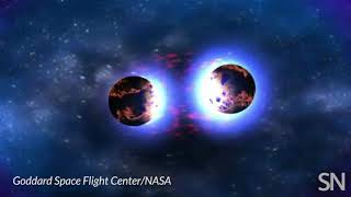 Two neutron stars collide | Science News