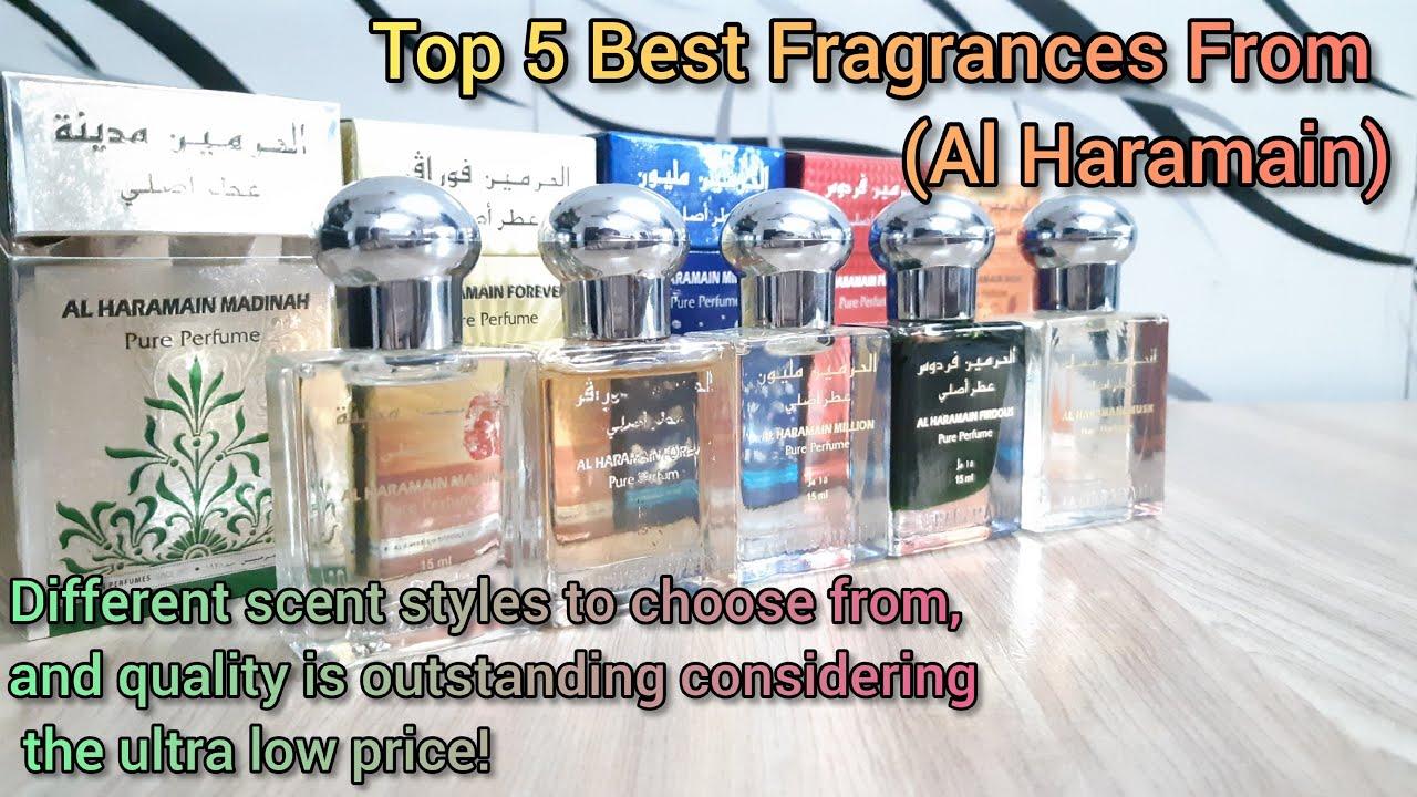Top 5 Best Fragrances From (Al Haramain) | Affordable & Long Lasting Perfumes | #Fragrances