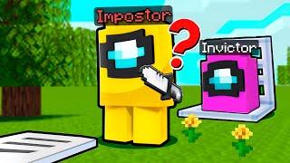 ¡Jugamos al ESCONDITE de AMONG US en Minecraft¡ 😂 INVICTOR