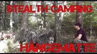 Stealth Camping Regeln, Tarnen im Wald, Tipps für Bushcrafter Teil 4 / Hängematte