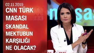 Erdoğan ABD'ye gitmeli mi? Mektubun karşılığı ne olacak? - CNN TÜRK Masası 02.11.2019 Cumartesi
