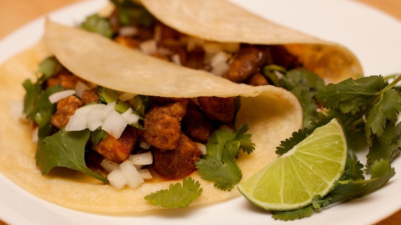 Chicken Tacos Recipe Youtube