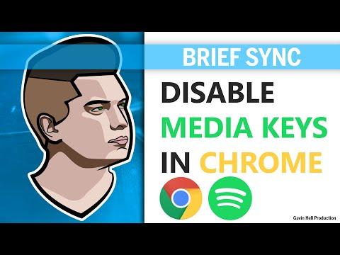 Disable Media Keys on Chrome - [Brief Sync]