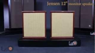 Jensen P12PS whizzer alnico speakers