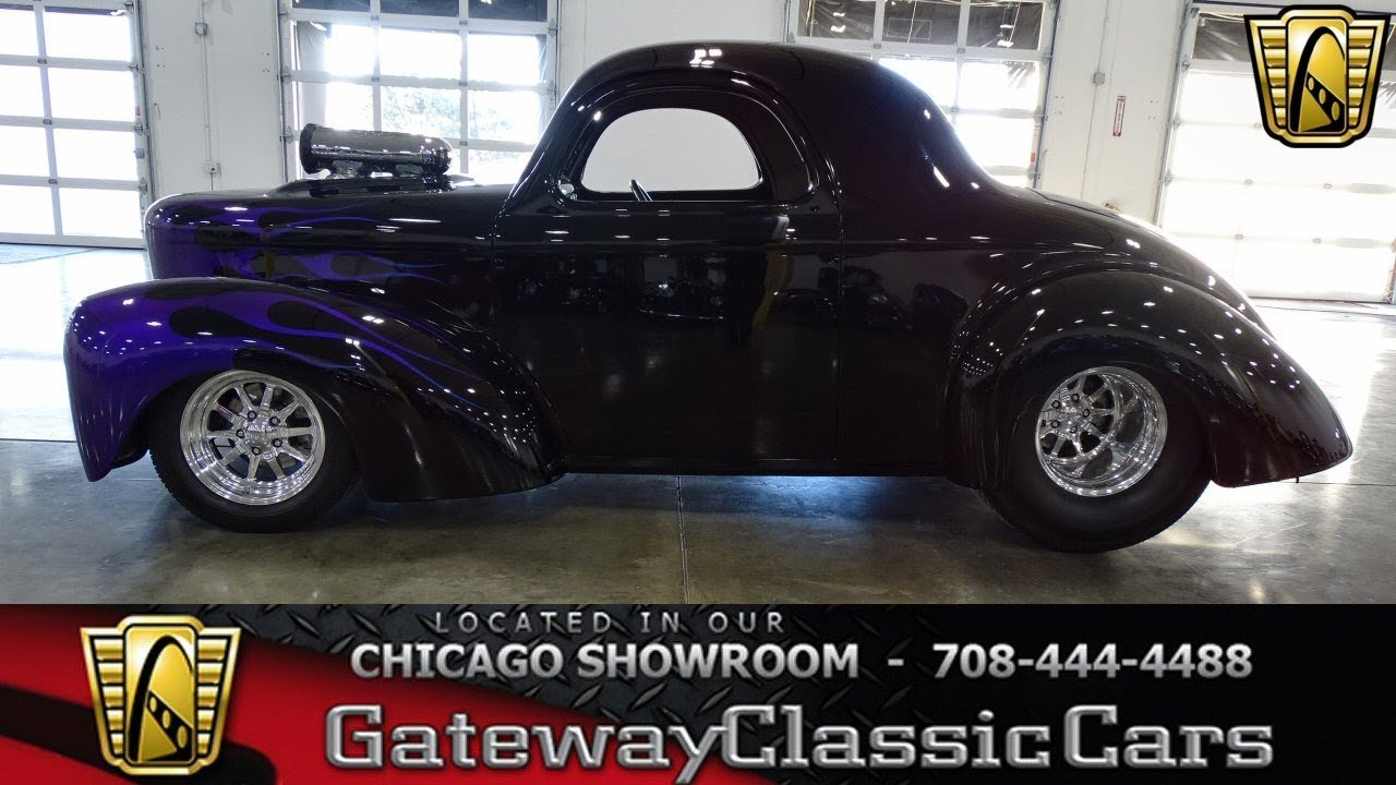 1941 Willys Coupe Gateway Classic Cars Chicago #1324
