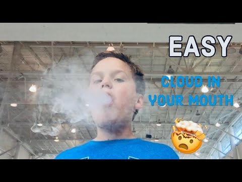 How to Make a Cloud From Your Mouth *EASY*