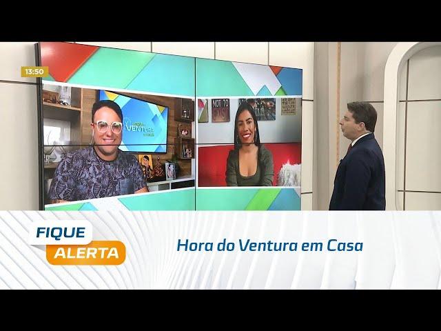 Hora do Ventura em Casa: apresentadora Eliana fala sobre o fim do isolamento