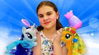 Литл Пони: День рождения Селестии. Игрушки Пони - Мультики для девочек
