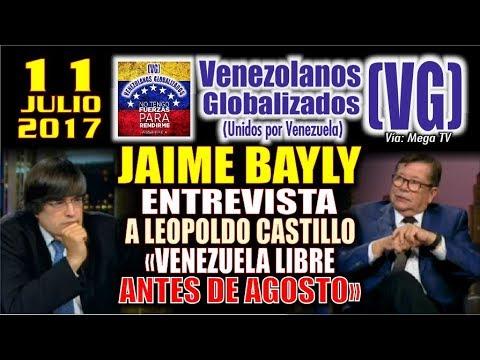 """JAIME BAYLY entrevista al periodista venezolano Leopoldo Castillo – """"Escenarios en Venezuela"""" - (VG)"""